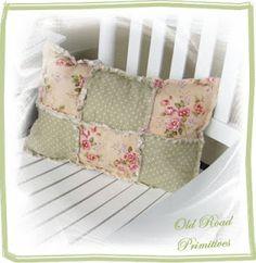 Rag Quilt & Pillow