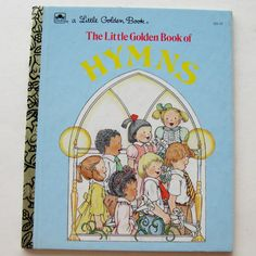 Vintage Childrens Picture Book of Hymns The Little by CinfulOldies, $5.00