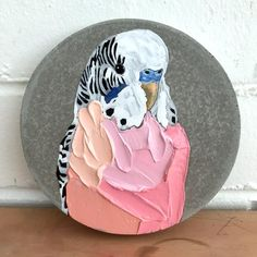 Animal Paintings, Animal Drawings, Art Drawings, Bird Artwork, Budgies, Parrots, Pet Portraits, Les Oeuvres, Art Projects