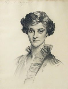 John Singer Sargent Portrait of Ruth Draper, 1913 Charcoal on paper 22 x 17 inches Life Drawing, Figure Drawing, Painting & Drawing, Portrait Sketches, Portrait Art, Sargent Art, Beautiful Drawings, Cthulhu, Gravure