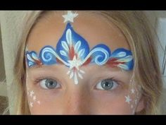 Super fast and easy face painting designs that are great for long lines at 4th of July parties and festivals!     Products Used:  DFX Blue  Wolfe White  FAB Red  BAM Star Stencil  One Stroke 3/4 Flat Brush  Loew Cornell 3000 #0 Round Brush  Loew Cornell Golden Grip #3 Round Brush