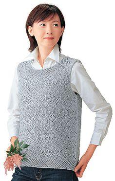 tortoiseshell vest