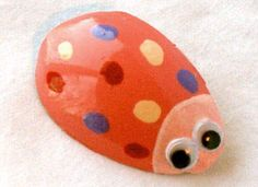 We made these into ladybug pins and magnets they were sweet!  Also made the molds at Easter and decorated the plaster forms as Eggs.