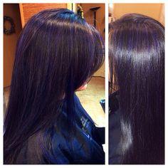#purple #highlights ♥