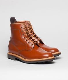Mark McNairy - Leather Derby Boot