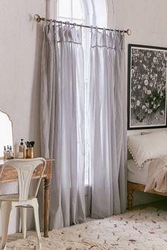 Shop Plum & Bow Gathered Voile Curtain at Urban Outfitters today. We carry all the latest styles, colors and brands for you to choose from right here.