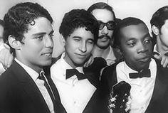 Final do II FIC. Rio de Janeiro, 1967. Chico Buarque, Gutemberg Guarabyra e Milton Nascimento.
