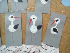 odlet ptáků - čápi