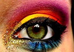 rainbow & glitter