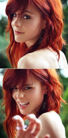 Saucy red head, natural beauty!