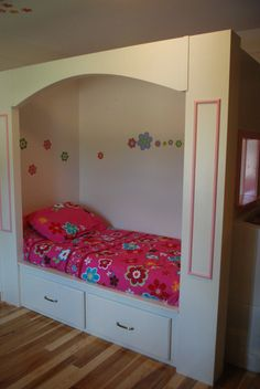 Custom Children's Bed by evfinDesign on Etsy, $1200.00