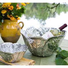 Beatriz Ball GARDEN Cabbage decorative silver bowls - Beatriz Ball Collection available at Eggplant 304.346.3525 www.eggplantshop.com Join us on FB: eggplantshop Twitter: eggplant_abo Instagram: EggplantShop Download the App: Eggplant