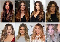 Hair transformation from dark to blond