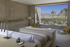 Amangiri Utah - outrageously lavish hotel in the middle of nowhere...you can't get farther away than this #JetsetterCurator