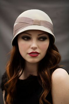 Day Cloche Hat by MaggieMowbrayHats on Etsy, Definitely my style
