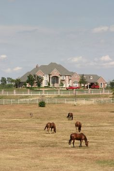 this is the epitome of a dream home for moi...I'm so excited!!!One day I will have my equestrian estate!