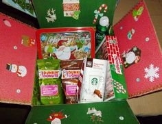 Another Christmas care package with homemade granola.