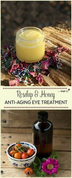 Rosehip and Honey Anti-Aging Eye Treatment
