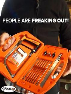 Cool Tools, Diy Tools, Hand Tools, Crafting Tools, Home Gadgets, Gadgets And Gizmos, Dewalt Tools, Tools And Toys, Tools Hardware