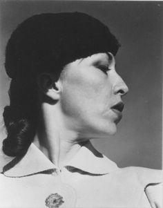 Carmelita Maracci by Edward Weston in Mexico, 1937