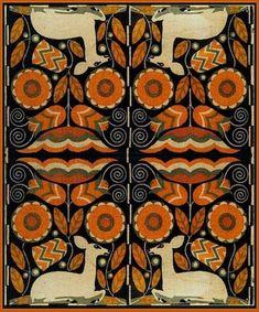 Art Needlepoint Scandanivian Deer Rug or Wall Hanging. From the Art Needlepoint Company. $395.00
