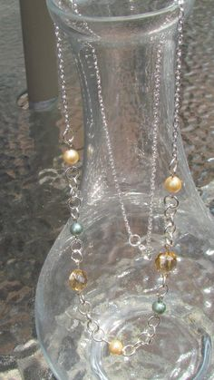 Classic Loop & Pearl Necklace by leraybear on Etsy, $20.00