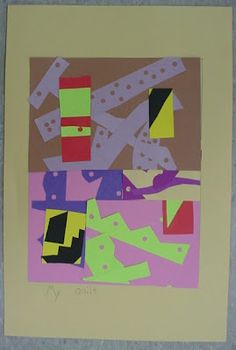 Paper Quilts ~ inspired by Gees Bend Quilting Artists