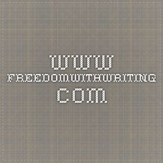 www.freedomwithwriting.com