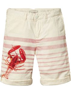 Canvas Chino Shorts