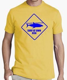 T-shirt Surf - Shark