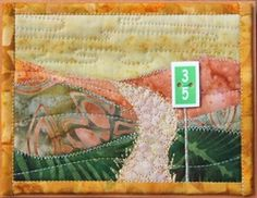 Two classes scheduled at Northern Threads quilt shop! Fabric Postcards, Fabric Cards, Thread Painting, Mug Rugs, Card Sizes, Fiber Art, Projects To Try, Greeting Cards, Art Cards