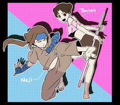 Tenten & Neji