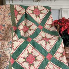 Vintage View: FREE Tribute to York County Quilt Pattern, circa 1820
