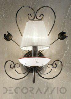#lighting #walllamp #wall_lamp #style #design #interior #Светильник  настенный накладной Kolarz TIZIANA, 3616.61.DA.KoT изображение