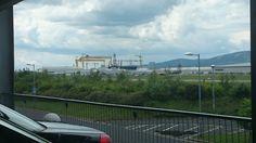 Yellow Cranes (Titanic) Belfast city