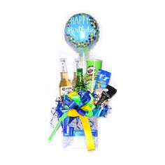 Balloon Gift, Balloon Flowers, Candy Bouquet, Balloon Decorations, Ideas Para, Fathers Day, Balloons, Gifts, Packing Ideas