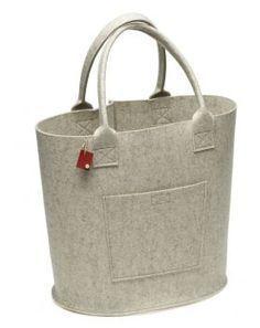 i.Punkt Filz Tasche Big Bag - in 13 verschiedenen Farben. Da macht Shopping noch mehr Spaß.  Die große Tasche Big Bag ist aus hochwertigem 3mm starken Wollfilz gearbeitet.  Zeitloses Design und beste Verarbeitung made in Germany machen diese Tasche zu einem wirkungsvollen Accessoire.