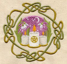 Embroidery Designs at Urban Threads - Wheel of the Year - Imbolc