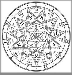Ceremonial Magick:  #Ceremonial #Magick ~ Enochian Sigil.
