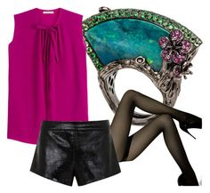 100% gluten by glirendree on Polyvore featuring moda, Etro, Mason by Michelle Mason and Wolford