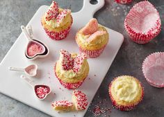 The kids will love helping you make these cute-as-a-button classic fairy cakes – perfect for Mother's Day