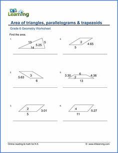 printable area of parallelogram worksheet teacher stuff pinterest math worksheets math. Black Bedroom Furniture Sets. Home Design Ideas