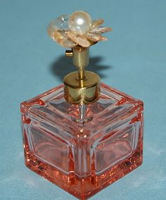 pearl topped scent bottle
