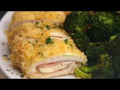 7 Easy Chicken Dinners You Can Make On A Sheet Pan- chicken, ham, and cheese roll up