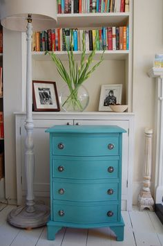 annie sloan paloma with antibes green painted furniture | Provence blue, antibes green, chalk paint, annie sloan, restored ...