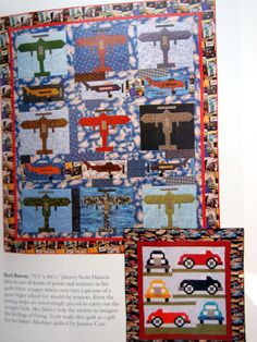 Quilted Adventures By Sara Nephew Quilting Booklet by NeedANeedle, $8.75