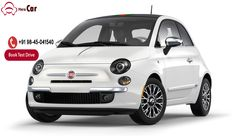 #Bookmytestdrive #Fiat500  Premium fiat 500, the real symbol of elegance with clear exterior and italic tasted interior. It gives a new touch and different taste to road u take  #Testdrive #Automotive #TechNews #Fiat #500X #FIAT500X #Abarth #Cars #Car #500L #FIAT500L #FCA #Safety #IIHS #Chrysler #Trekking #Crossover #Italy #PopeFrancis #Expo2015 #Auto