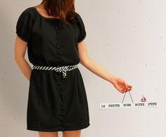 La Thai qui Riz: DIY robe noire