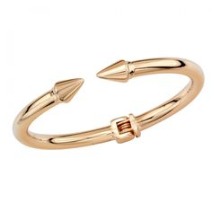 """Mini Titan Bracelet This Vita Fede""""Mini"""" plated bracelet features a cone detail with a hindge closure.  * Small- 6.1"""" c  * Medium- 6.5"""" c  * Made in Italy ..."""