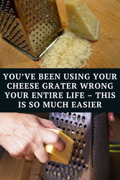 A cheese grater is a simple machine that allows you to shred a block of tasty cheese. It makes cheese an ideal ingredient in any recipe because it makes it more refined thus making it easier to melt.